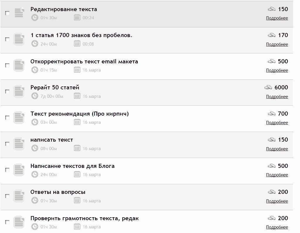 Воркзилла отзывы 2018: копирайтинг